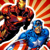 starsandatoms: ([marvel] Cap & Iron Man)