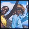 skywardprodigal: two girls on a mountain-top, partying (friends - tara's nassau)