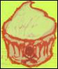 scorcha: (cupcake, skull)