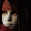 swordage: Vincent Valentine. Gloomy. As always. (x vincent van kickurass)