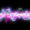 darkemeralds: Multicolored soundwaves on a black background (Sound)