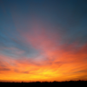 askygoneonfire: Red and orange sunset over Hove (November the 8th)