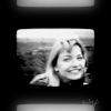 st_aurafina: Laura's face captured on video closeup (Twin Peaks: Laura)