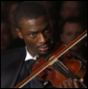 peaceful_sands: Hardison playing the violin (Hardison violin)