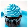 ilpleut: (stock food| blue cupcake)
