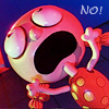 "laurashapiro: Animated little girl yelling ""NO!"" (no icon by infinitemonkeys)"