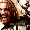 thrihyrne: (Boromir life is good)