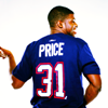 thefourthvine: PK Subban wearing Carey Price's jersey. (Hockey Price/Subban)