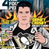 thefourthvine: A comic book style drawing of Sidney Crosby as Superman, ripping open his shirt to reveal his Pens jersey. (Hockey Super Sid)