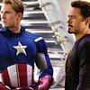 kabal42: Steve Rogers and Tony Stark - aka Captain America and Iron Man (Comics - Avengers - Steve/Tony)