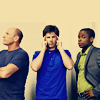 yellowvalley: Henry, Shawn, and Gus from Psych (Psych crew)