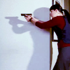 shinealightonme: (cm em with gun)