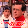 kass: Jon and Stephen from Stephen's Christmas special (jon/stephen chag sameach)