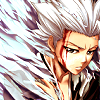 yami_jay: One of my fav icons. Don't remember who made it... (Bleach // Hitsugaya - Frozen Heaven)