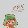 learnedsomething: chibi Kyle panicking (oh shit!)