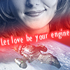 "kass: ""let love be your engine,"" image of Kaylee and of Serenity (let love be your engine)"