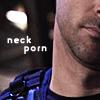 kass: John Sheppard's neck is porn. (neck)