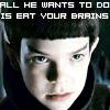 voodoochild3000: (spock's brain)