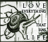 "hokuton_punch: Scene from Pluto of Atom holding a snail, saying ""Love everything that has life."" (pluto atom snail love life)"