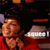noxie: uhura looking happy (!squee)