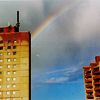 j00j: rainbow over east berlin plattenbau apartments (Default)