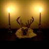 spiderwoman: (candles, skull)
