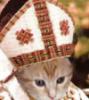 claudine: (cat, mitre)