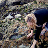 utopia: Myself exploring local tide pools.  ((Beach) Tide pools, beach, scrounging around)