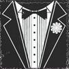 outlineofash: Illustration of a tuxedo front. (Sundry - Tuxedo)