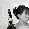 weretrain: Tosh and her gun (Tosh gun)