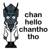 weretrain: chan hello Chantho tho :) (Chantho hello)