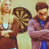 sloth: penny and leonard from big bang theory look disapproving (penny (and leonard) disapproves)