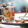sloth: Chekov of Reboot Star Trek working at the conn (chekov at work)