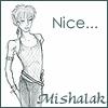mishalak: A fantasy version of myself drawn by Sue Mason (Couple)