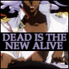 "veleda_k: Akio from Revolutionary Girl Utena with the text, ""dead is the new alive."" (Utena: Akio- dead is the new alive)"