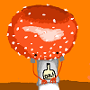 dearmushroomhead: Mushroom taking off his oil shirt. I don't even... (mushroomhead)