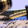 latin_cat: (writing pen)