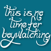 """ar: """"This is no time for boy-watching!"""" from a Baby-Sitters Club book. (bsc - boywatching)"""