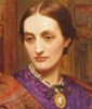 marcellinafuriosa: Holman Hunt's posthumous portrait of his first wife, Fanny. (Fanny W. H. H.)