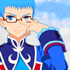 doubleblades: (srs glasses push)