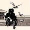 jame_alec: Dream from Sandman with pigeons flying around him (Dream - Pigeons)