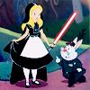 misbegotten: Alice in Wonderland, Star Wars style (SW Alice in Vaderland)