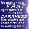 lillian13: (pratchett No matter how fast light trave)