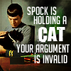 thedeadparrot: (spock cat)