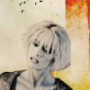 yvi: farscape's Chiana in front of white and yellow background (Farscape - Chiana)