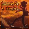 pyrokinesis: (Sunset Cowgirl)
