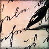 angryoldhag: Quill and handwriting (writing)
