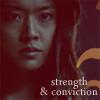 eumelia: (strength & conviction)