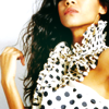 brilliantnova: (Celebrities- Zoe Saldana polka dress)