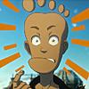 loquacious: (bas - foot-faced fool!)